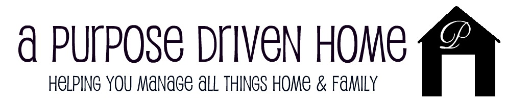 A Purpose Driven Home